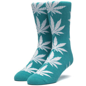 HUF Plantlife crew zokni Deep Jungle 1 pár