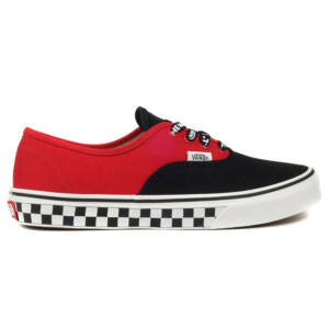 Vans Authentic Logo Pop gyerek cipő Black True White 2ed807d819