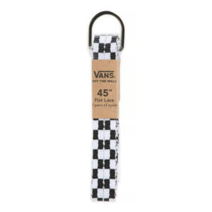 Vans cipőfűző Black White Checkerboard 1pár 114cm