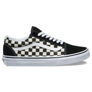 Vans Primary Check Old Skool cipő Black White 83fde5fcbc