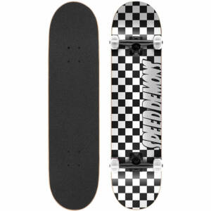 Speed Demons Checkers komplett gördeszka Black White 8.0x31.6
