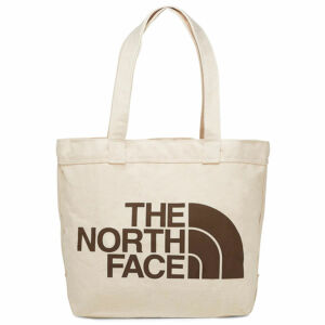 The North Face Cotton Tote táska Weimaraner Brown Large Logo Print