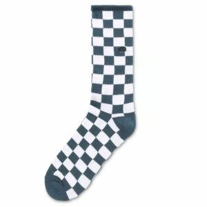 Vans Checkerboard Crew zokni Stargazer White
