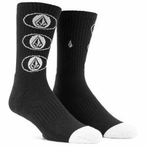 Volcom Vibes zokni Black 1 pár