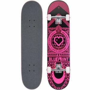 Blueprint Home Heart komplett gördeszka Black Pink 7.75x31.5