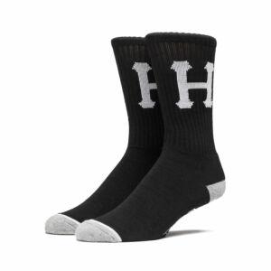 HUF Classic H Crew Zokni Black 1 pár