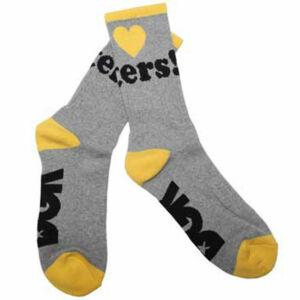 DGK Haters zokni Heather/Yellow 1 pár