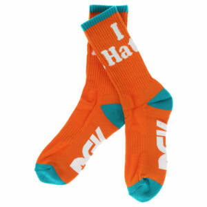 DGK Haters zokni Orange/Mint 1 pár