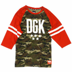 DGK Worldwide LS raglan Camo-Red