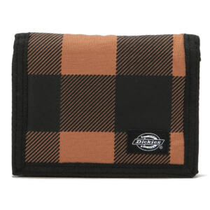 Dickies Crescent Bay pénztárca Brown Duck Checkered