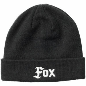Fox Flat Track sapka Black