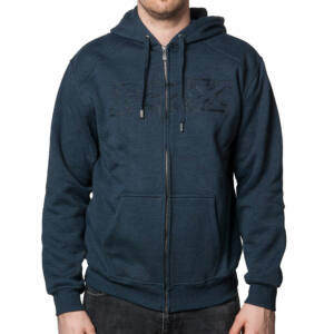 Fox Kursk Sherpa pulóver Heather Navy