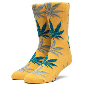 HUF Melange Leave zokni Honey Mustard 1 pár
