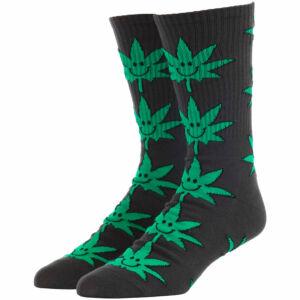HUF Mr Nice Guy Plantlife zokni Black 1 pár
