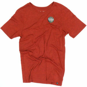 Hurley Staple Tri-Blend póló Gym Red