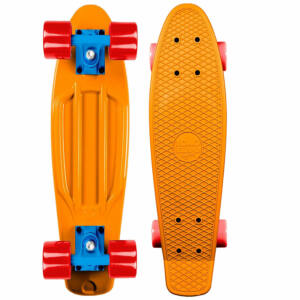 Long Island Buddies mini cruiser Orange 7.5x27