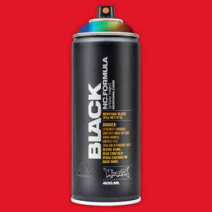 Montana Black festékszóró kanna 400ml BLK 2093 Code Red
