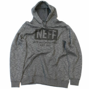Neff New World pulóver Charcoal Heather