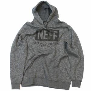 Neff New World pulóver Charcoal Heather