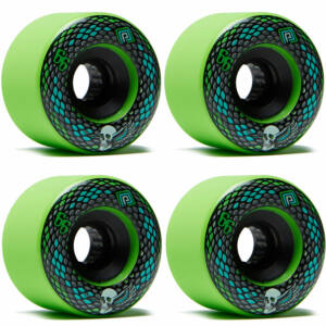 Powell Peralta Soft Slide Snakes kerék szett 66mm 75A Green 4db