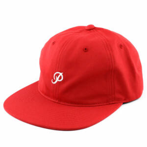 Primitive Mini Classic P 6 panel sapka red