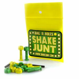 Shake Junt imbusz csavarkészlet Green-Yellow 1col