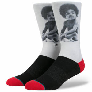 Stance Notorious BIG Ready to Die zokni White 1 pár
