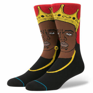 Stance Anthem Notorious BIG zokni Red 1 pár