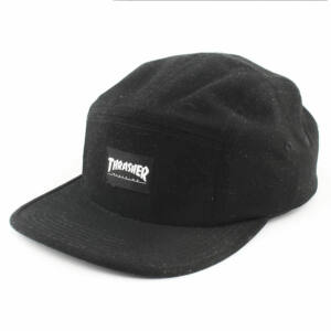 Thrasher Mag logo 5 panel sapka black