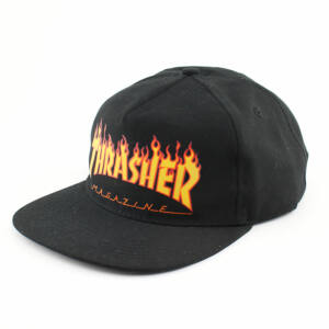 Thrasher Flame sapka black
