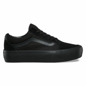 Vans Old Skool Platform cipő Black Black be0a813ecf