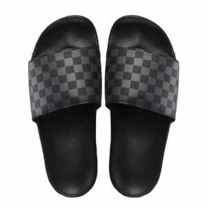 Vans Slide-On papucs Checkerboard Black Asphalt 3db3eab379