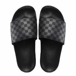 Vans Slide-On papucs Checkerboard Black Asphalt ae80ca6995
