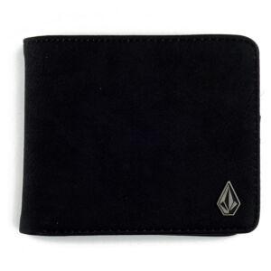 Volcom Slim Stone pénztárca Black