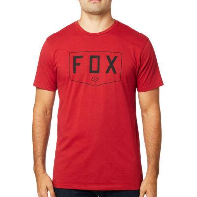 Fox Shield Premium póló Cardinal