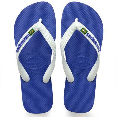 Havaianas Brasil logo papucs Marine Blue