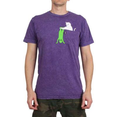 Ripndip Break Yo Self póló Purple Mineral Wash