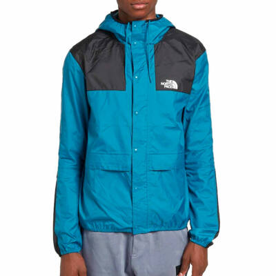 The North Face 1985 Mountain Jacket széldzseki Saxony Blue TNF Black