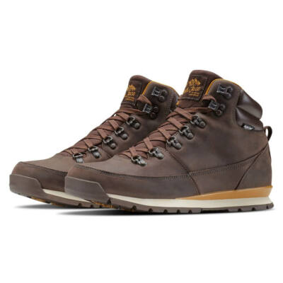 The North Face Back To Berkeley bakancs Chocolate Brown Gold