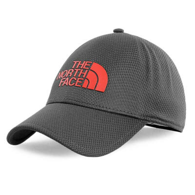 The North Face One Touch sapka Asphalt Grey Fiery Red