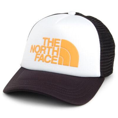 The North Face TNF Logo Trucker sapka TNF White Zinnia Orange