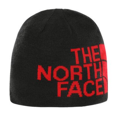 The North Face Rvsbl TNF Banner téli sapka TNF Blk/TNF Redlgxl