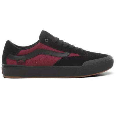Vans Berle Pro cipő Punk Black Beet Red