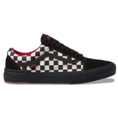 Vans Old Skool Pro BMX Kevin Peraza cipő Black Checkerboard