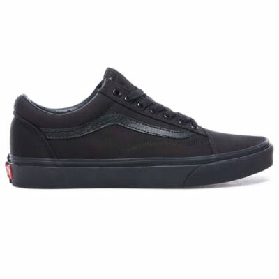 Vans Old Skool Canvas cipő Black Black