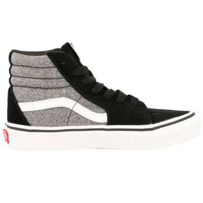 Vans Sk8-Hi suede gyerek cipő Suiting Black