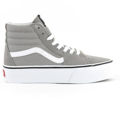 Vans Sk8-Hi Platform 2 cipő Drizzle True White