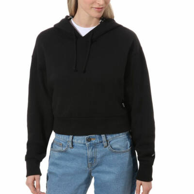 Vans Straightened Out kapucnis pulóver Black