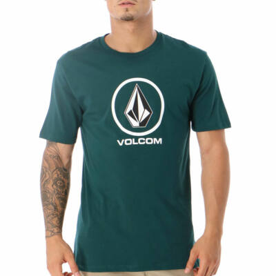 Volcom Crisp Stone póló Evergreen