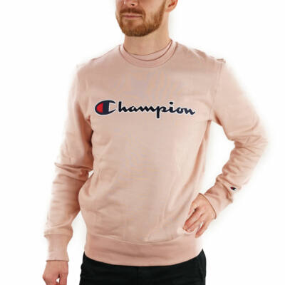 Champion Large Embroidered Logo pulóver MSY
